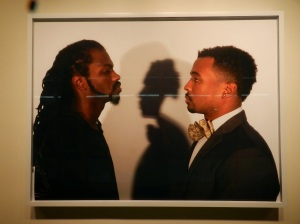 """Looking Black at Me"" is on display at the Stamp Gallery until Oct. 18. (Maria Kim/Bloc Reporter)"