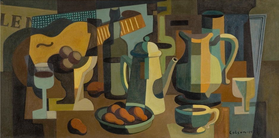 Bodegón by Jaime Colson, 1927, oil on canvas. (Courtesy of the Collection of the Customs General Directorate/Art Museum of the Americas)