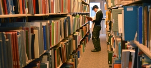 The Michelle Smith Performing Arts Library boasts an inventory of 56,000 books, 156,000 musical scores and 130,000 audio and video recordings. (Jin Kim/Co-Managing Editor)