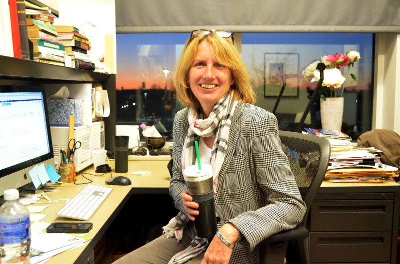 Susan Moeller, journalism professor. (Trey Sherman/Bloc Reporter)