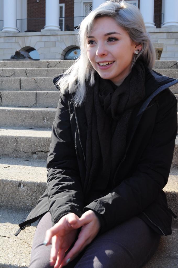 Sarah Zuech, freshman, undecided. (Julia Keane/Bloc Photographer)