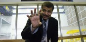 Neil deGrasse Tyson poses for a photo during a visit to the Goddard Space Flight Center on June 3, 2014. (Photo courtesy of NASA/Goddard/Rebecca Roth)