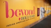 The Beyond Bollywood: Indian Americans Shape the Nation exhibit reached its one year anniversary at the Smithsonian National Museum of Natural History on Friday. The exhibit will stay at the Smithsonian until August 2015, before traveling on five-year tour around the country. (Brittany Britto/Bloc Reporter)