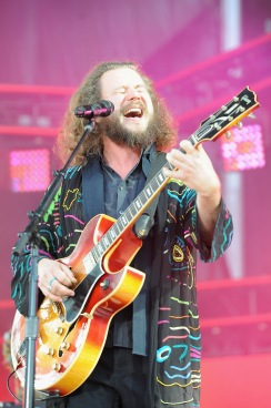 WASHINGTON, D.C., - APRIL 18: Singer-songwriter Jim James of My Morning Jacket performs onstage during Global Citizen 2015 Earth Day on National Mall to end extreme poverty and solve climate change on April 18, 2015 in Washington, DC. (Photo by Richard Chapin Downs Jr./Getty Images for Global Citizen)