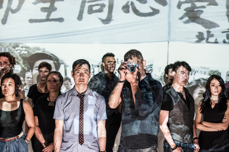 Background: Tessa Klein, Diana Oh, Julie-Ann Elliott, Jade Wu, Jordan Barbour, Jacob Yeh, Kenneth Lee, and Kelsey Wang. Foreground: Rob Yang and Ron Menzel. (Courtesy of Teddy Wolff)