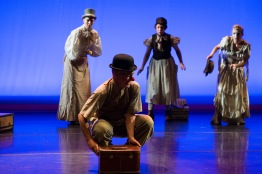 Featured are performers of Happenstance Theater. (Josh Loock/Bloc Reporter)
