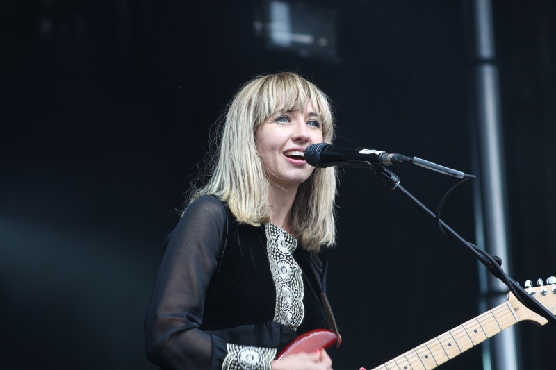 Featured is Ritzy Bryan of the band The Joy Formidable. (Cassie Osvatics/Bloc Reporter)
