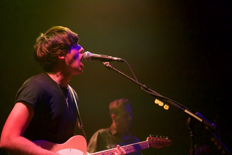 Kieran Shudall performs with his band, Circa Wave, at the 9:30 Club. (Julia Lerner/Bloc Reporter)