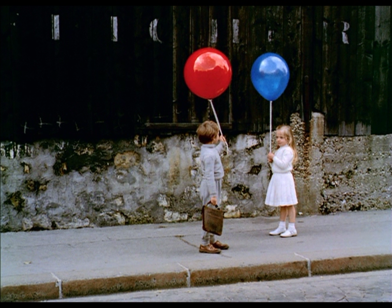 "Screen capture taken from ""The Red Balloon."""