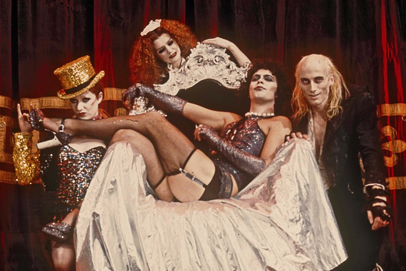Screen capture from Rocky Horror Picture Show, the film that will close the festival.