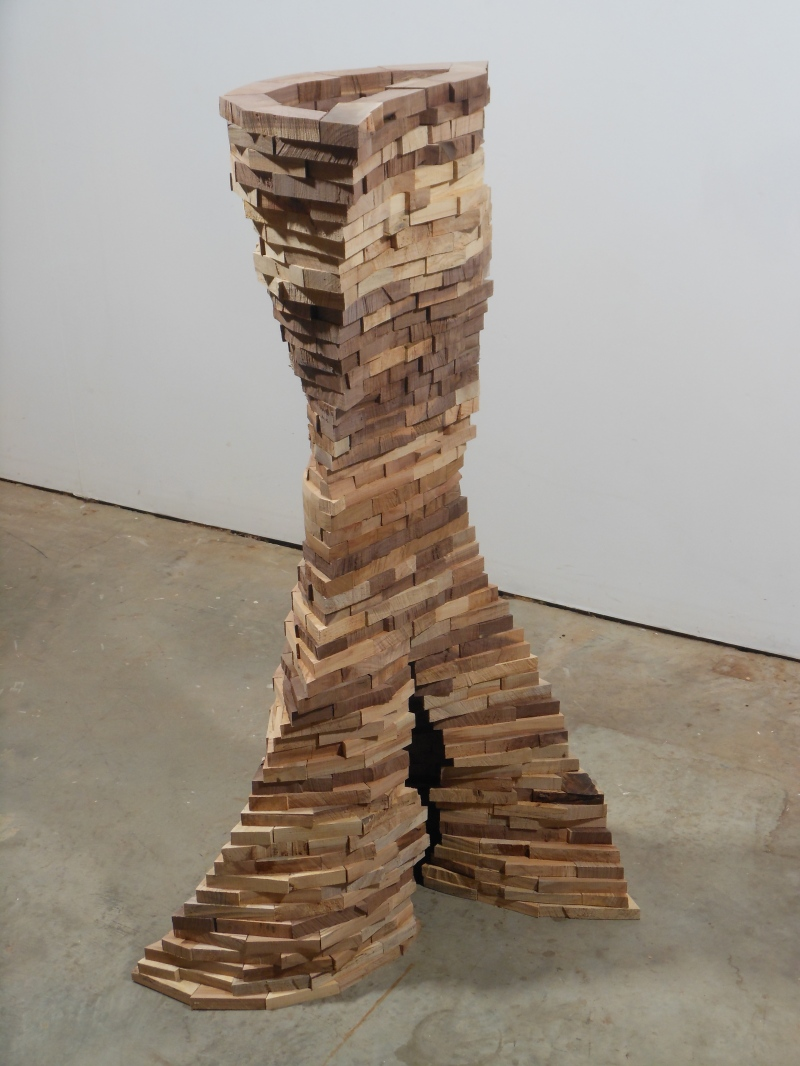 "Foon Sham's ""Cava."" (Courtesy of the University of Maryland Art Gallery)"