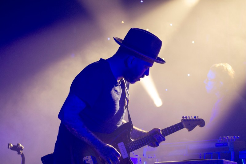 Canadian singer, City and Colour (Dallas Green) performing at Echostage. City and Colour is at the end of his US tour with Bahamas. (Cassie Osvatics/Bloc Reporter)