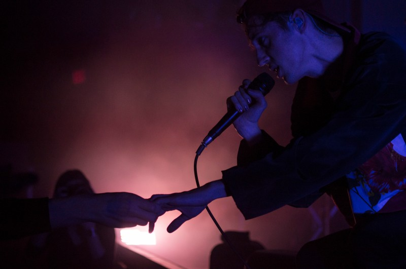 "Australian singer, songwriter, Troye Sivan performing at 9:30 Club. Troye wore a hat from one of the concertgoers throughout the event. After receiving a multitude of gifts while on stage he said, ""I feel like you guys are like Oprah."" (Cassie Osvatics/Bloc Reporter)"