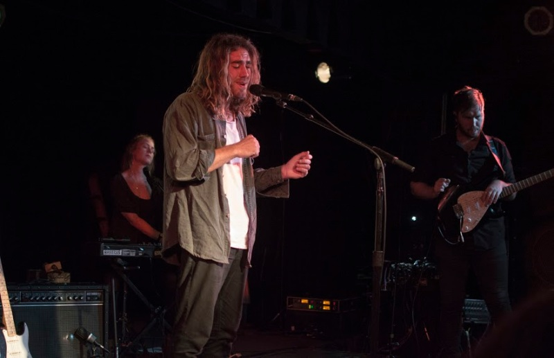 Australian singer-songwriter Matt Corby during his soulful performance at Black Cat. (Cassie Osvatics/Bloc Reporter)