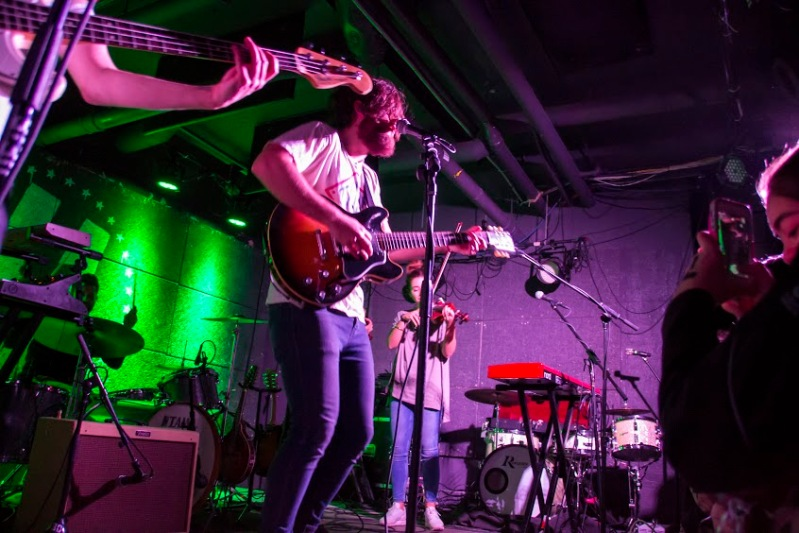 The Lighthouse and the Whaler perform at U Street Music Hall (Gabe Fernandez/Bloc Reporter)