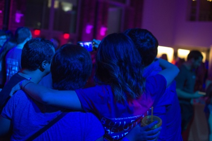 Students, faculty, and visitors gather together for an evening of fun and dance. (Joe Duffy/Bloc Photographer)