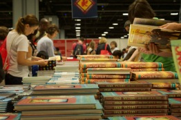 The Library of Congress National Book Festival held at the Walter E. Washington Convention Center held Saturday Sept. 24, 2016 welcomed over 100 authors, with their works featured in the festival's book sales area. (Jordan Stovka/Bloc Reporter)