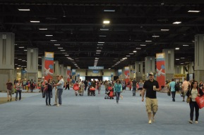 "The Walter E. Washington Convention Center was expected to see about 100,000 visitors for the 16th annual National Book Festival Saturday, Sept. 24, 2016. The Lower Level (pictured) featured book signings, book sales, daytime activities sponsored by The Washington Post, a ""Pavilion of the States Exhibit"" and much more. (Jordan Stovka/Bloc Reporter)"