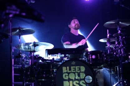 Touring drummer for Cherub performing at the 9:30 club. (Casey Tomchek/Freelance Photographer)