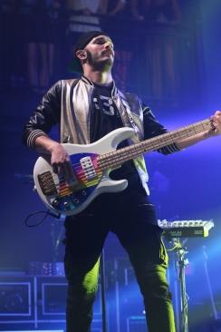 Jordan Kelley, of Cherub, performing at the 9:30 club. (Casey Tomchek/Freelance Photographer)