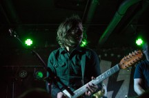 Vocalist and guitarist of The Shelters, Chase Simpson, peforms at U Street Music Hall on the Alt Nation Advanced Placement Tour. (Cassie Osvatics/Bloc Reporter)