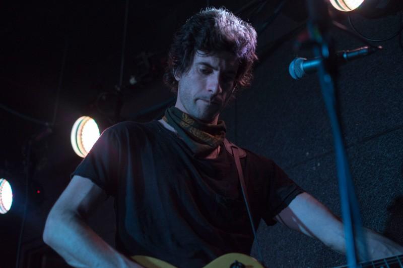 Darian Zahedi, lead guitarist of CRX performing at U Street Music Hall. (Cassie Osvatics/Bloc Reporter)