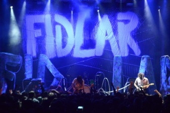 There wasn't a single person in the room who wasn't dancing during Fidlar's lively set. (Miranda Rosen/Bloc Photographer)