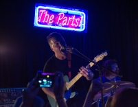 Dylan Mattheisen fronts Tiny Moving Parts at Jammin Java. (Gabe Fernandez/Bloc Reporter)