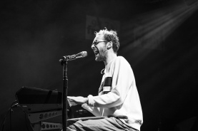 Stephen Wrabel performs at the Fillmore Silver Spring on Dec. 9. (Casey Tomchek/Freelance Photographer)