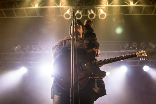 Stephen Jenkins, frontman of Third Eye Blind, performs at the Fillmore Silver Spring on Dec. 9, 2016. (Casey Tomchek/Freelance Photographer)