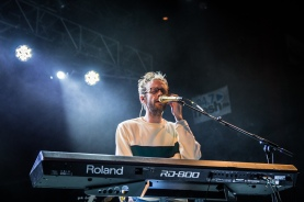 Wrabel performs at the Fillmore Silver Spring on Dec. 9. (Casey Tomchek/Freelance photographer)