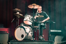 Brad Hargreaves, drummer for Third Eye Blind, performs at the Fillmore Silver Spring on Dec. 9. (Casey Tomchek/Freelance Photographer)
