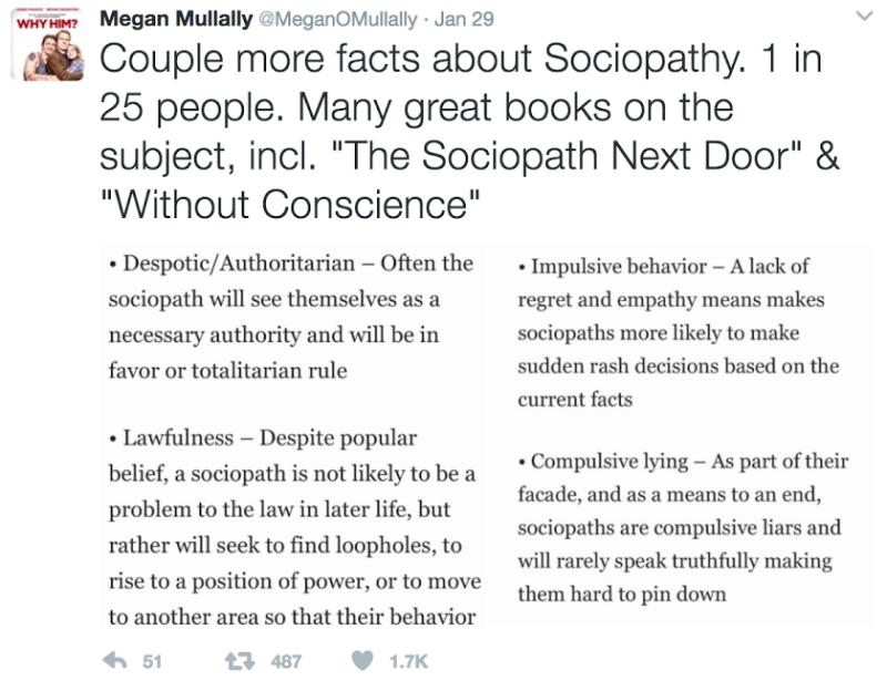 Courtesy of Megan Mullally's Twitter.