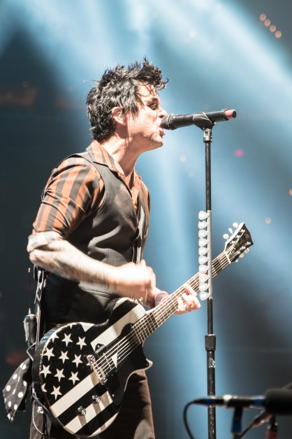 Green Day singer and guitarist Billie Joe Armstrong performs at the Verizon Center. (Casey Tomchek/Freelance photographer)