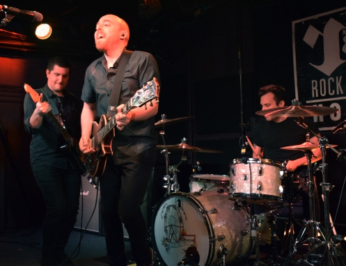 Scranton, Pennsylvania punk-rocker group The Menzingers perform a sold-out show at D.C.'s Rock And Roll Hotel, Wednesday, March 29, 2017 (Jordan Stovka/Bloc Reporter).