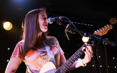 "Margaret Glaspy brought New York City blues rock to D.C.'s Rock And Roll Hotel Friday Night, in celebration of her debut record ""Emotions and Math"" (Jordan Stovka/Bloc Reporter)."