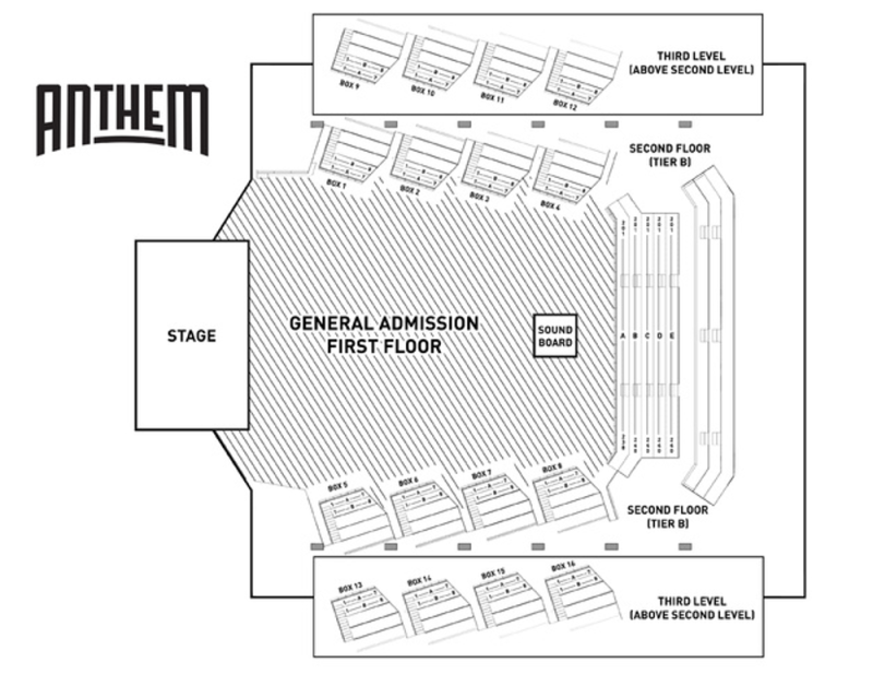 What You Need To Know About The Anthem D C S Newest Venue The
