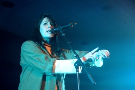 The Stamp All-Niter was perfectly headlined by K. Flay, whose alt-rock vibe had the crowd dancing all night. (Miranda Rosen/Bloc Photographer)