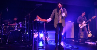 """Soft-alternative songs such as """"Blood in the Cut"""" and """"High Enough"""" were paired with more edgy rock songs, making for a diverse set that everyone could enjoy. (Miranda Rosen/Bloc Photographer)"""