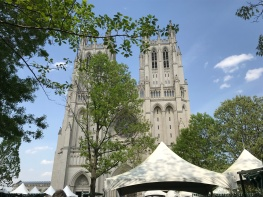The Washington National Cathedral. (Sara Karlovitch/Bloc Reporter)