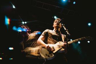 Public performs on stage at the Fillmore June 26 (Cristina Calderon/Bloc Photographer)