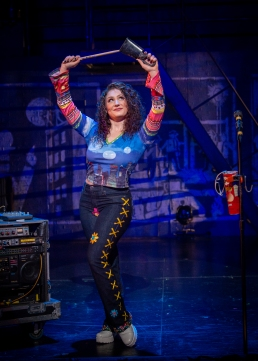 Kelsee Sweigard, RENT 20th Anniversary Tour. (Amy Boyle)