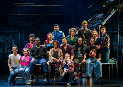 The Company of the RENT 20th Anniversary Tour, RENT 20th Anniversary Tour. (Amy Boyle)