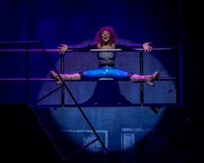 Aiyana Smash, RENT 20th Anniversary Tour. (Amy Boyle)