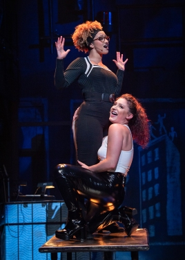 (L to R) Samantha Mbolekwa, Kelsee Sweigard, RENT 20th Anniversary Tour. (Amy Boyle)