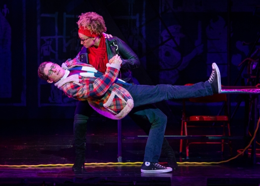 (L to R) Cody Jenkins, Samantha Mbolekwa, RENT 20th Anniversary Tour. (Amy Boyle)
